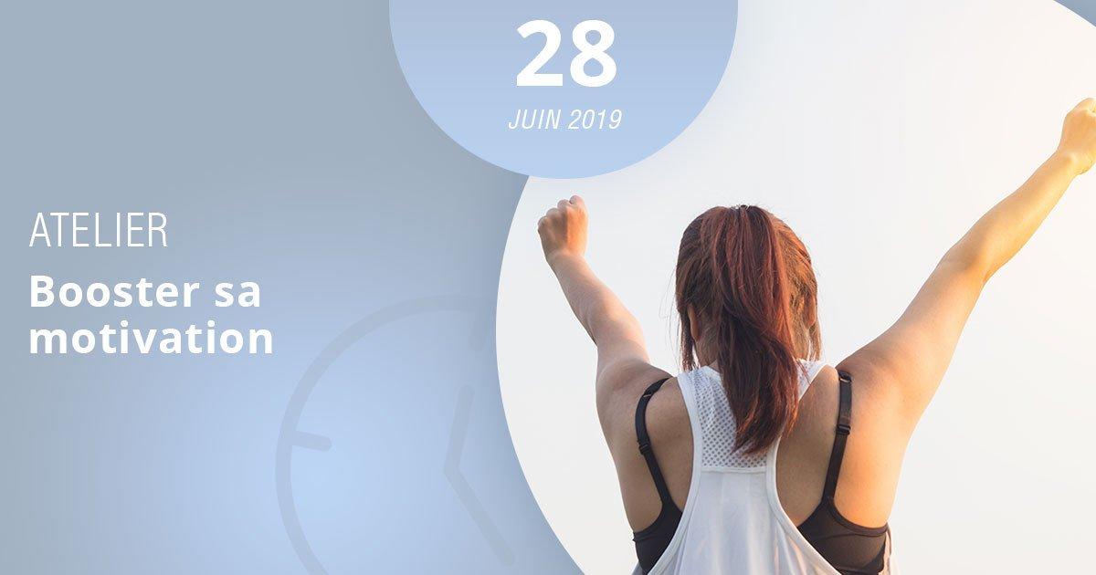 Apprenez à booster votre motivation grâce à notre atelier, le 28 mars 2019, au sein de notre centre de formation le Lab, à Montrouge !